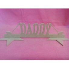 MDF Daddy Golf plaque